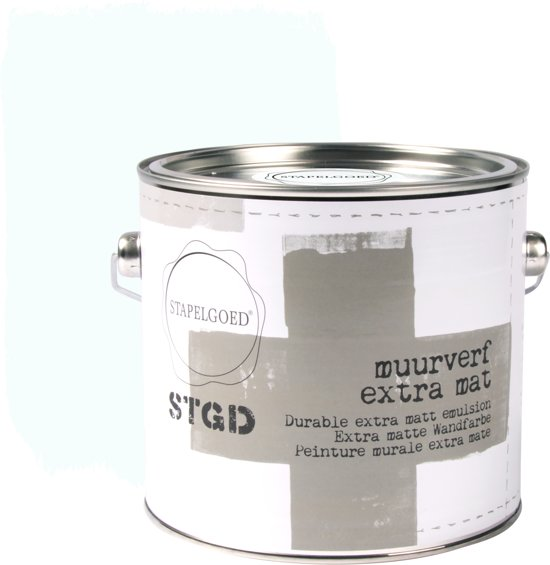 Stapelgoed - Muurverf extra mat - Fog - Wit - 2,5L