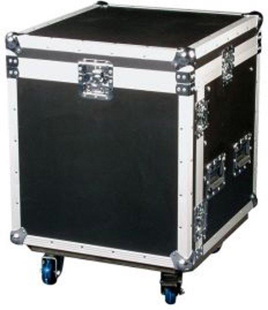 DAP Audio 19 inch flightcase (8HE front, 10HE top)