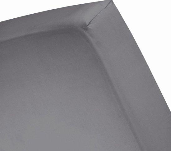 Cinderella - Hoeslaken (tot 25 cm) - Jersey - 120 x 200 cm - Anthracite