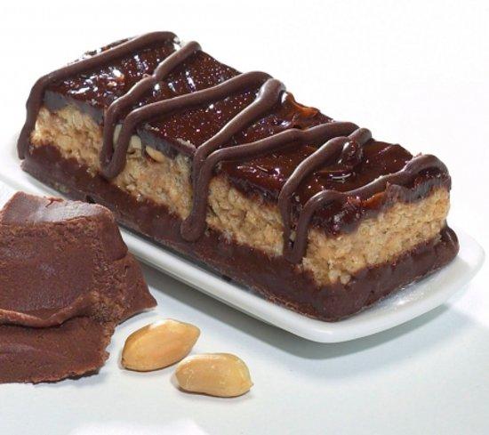 Dieti Maaltijdrepen Chocolade Pinda Reep - Maaltijdvervanger