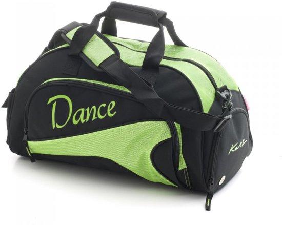Katz Sporttas Dance Zwart Lime