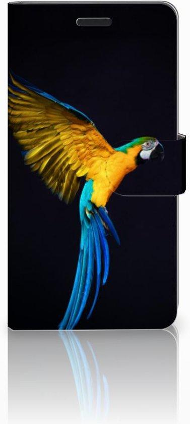 Samsung Galaxy A7 2015 Boekhoesje Design Papegaai