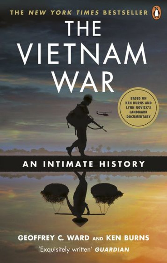 Boek cover The Vietnam War van Geoffrey C. Ward (Onbekend)