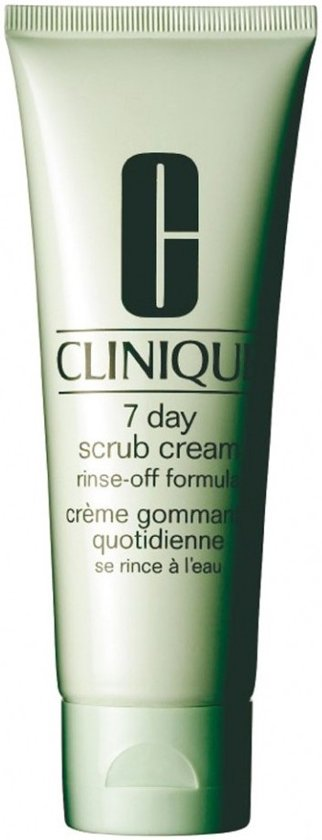 Clinique 7 day Scrub Cream Rinse Off Formula Gezichtsscrub - 100 ml
