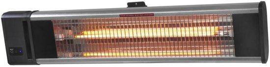 Eurom TH 1800R Terrasverwarmer - elektrisch - hangend - incl. afstandsbediening - 1800 W