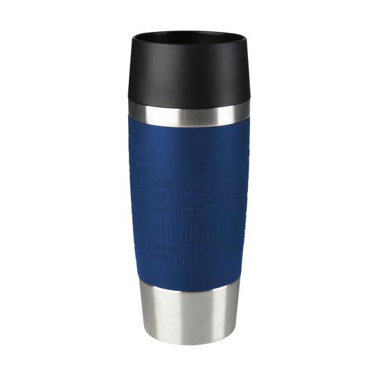 Tefal Travel Mug Thermos beker - 360 ml - RVS/Blauw