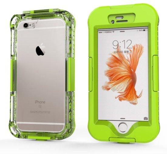 Waterdichte Hoes Vuil / Stof / Sneeuwbestendig Apple iPhone 6 / 6s - Groen