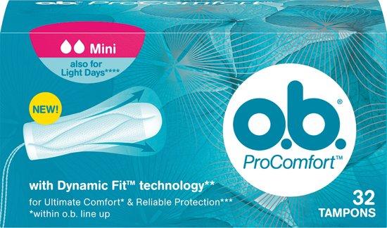 o.b.® ProComfort Mini Tampons -32 stuks