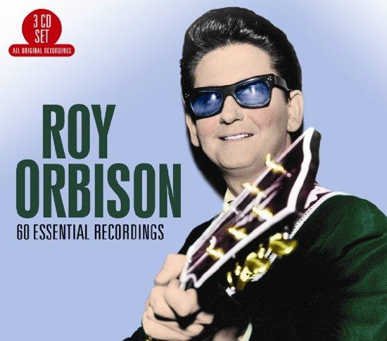 CD cover van 60 Essential Recordings van Roy Orbison