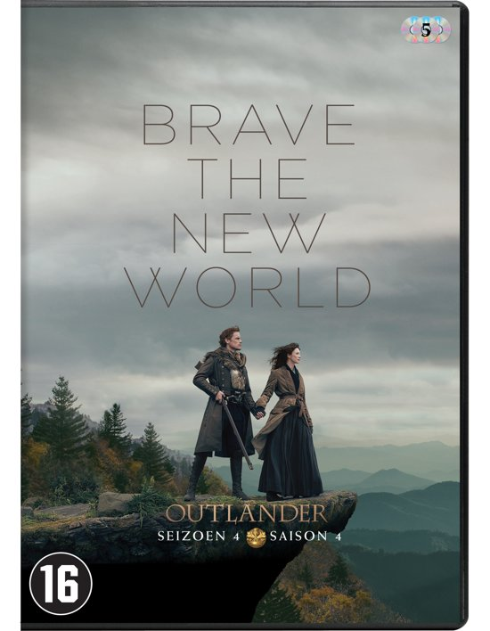 DVD cover van Outlander - Seizoen 4