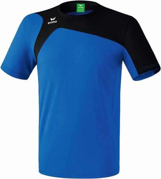 Erima Club 1900 2.0 T-shirt Senior Sportshirt - Maat XXL  - Mannen - blauw/zwart