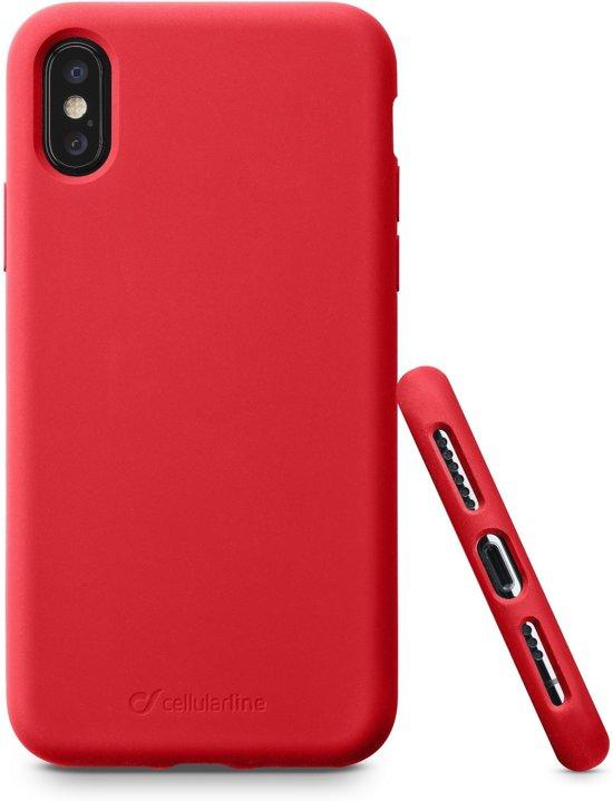 Cellularline Sensation mobiele telefoon behuizingen 14,7 cm (5.8'') Hoes Rood