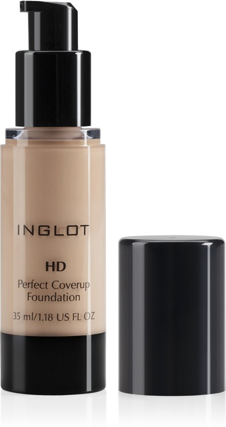 INGLOT HD Perfect Coverup Foundation 71 - Lichte huidskleur