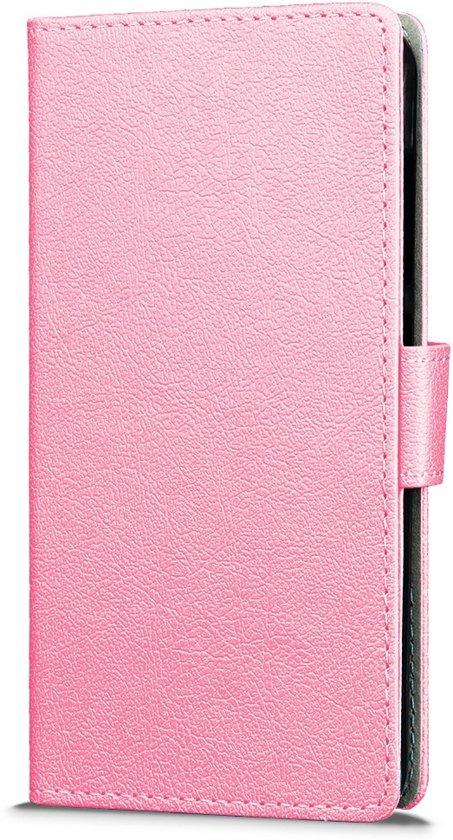Knaldeals.com - Acer Liquid Z6 Plus hoesje - Book Wallet Case - roze in Spiesberg