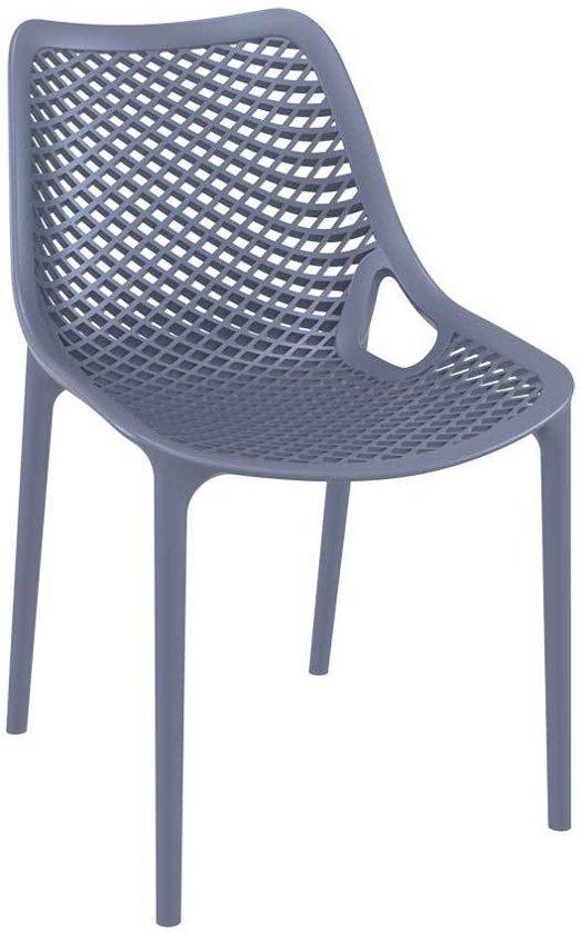 Clp tuinstoel air keukenstoel stapelstoel for Kunststof tuinstoelen stapelbaar