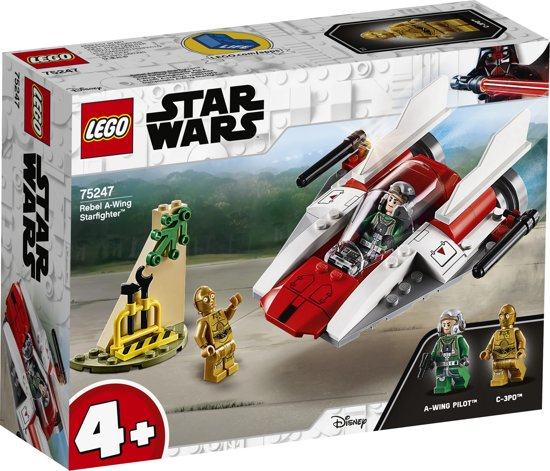 Rebel A-Wing Starfighter Star Wars LEGO 75247