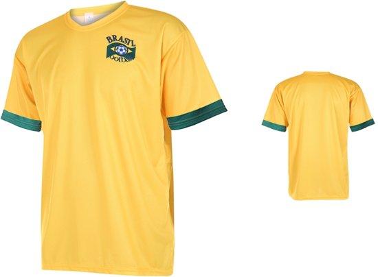 Brazilië Voetbalshirt Thuis Blanco -L