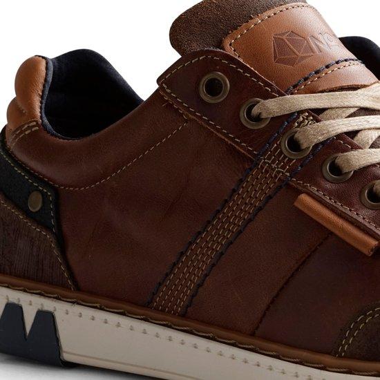 42 fuller Sportieve Herensneaker B Maat Cognac Leren Nogrz q0nFRf8x
