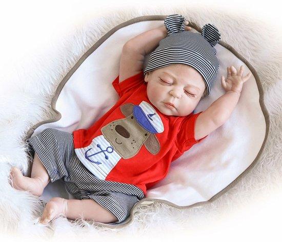 top ontwerp gratis bezorging releasedatum: Reborn baby pop - levensechte pop - extra kleine baby - 46 cm