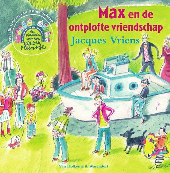 Een van de kinderboeken over vriendschap : Max en de ontplofte vriendschap