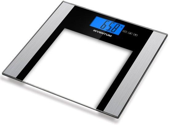Inventum PW708ZW -BMI Personenweegschaal met lichaamsanalyse