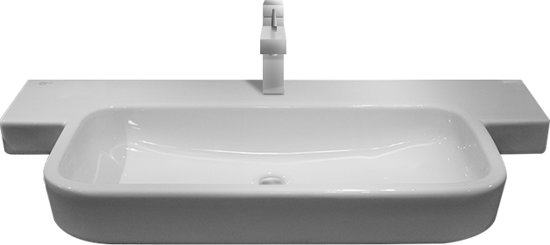 ideal standard simply u wastafel keramiek 120x51cm wit 1 kraangat. Black Bedroom Furniture Sets. Home Design Ideas