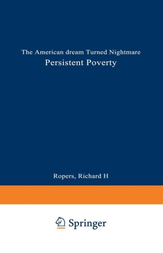 Persistent Poverty