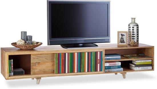 Bolcom Native Home Tv Meubel Tv Kast 3 Vakken