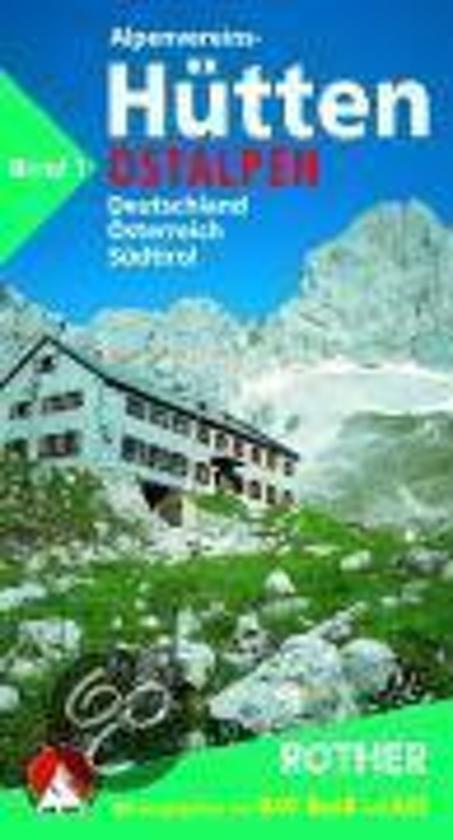 Cover van het boek 'Alpenvereinshuetten 1: ostalpen'