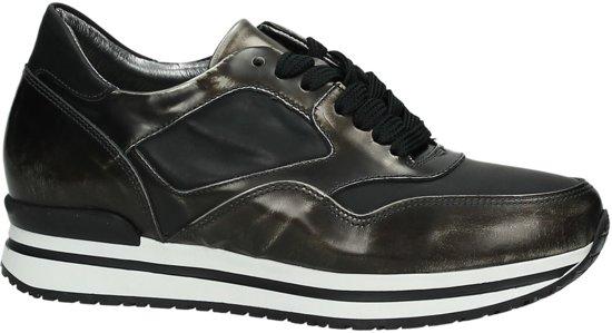 8c9cb7c6665 bol.com | Hip 1140- Sneaker laag - Dames - Dark Silver College/Black ...