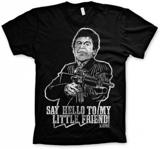 Bolcom T Shirt Scarface Say Hello To My Little Friend L