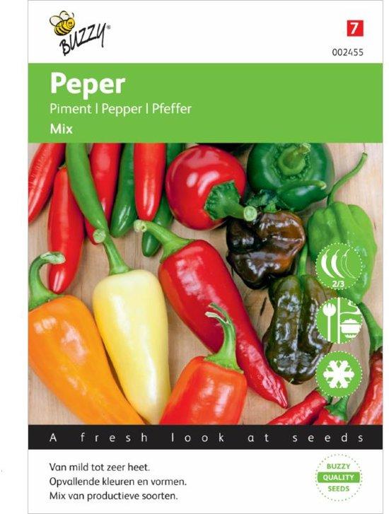 Buzzy® Peper Mixed 5 soorten