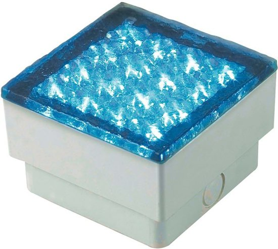 TRONIX 12V SYSTEEM LED brick light, lichtkleur BLAUW | 149-042