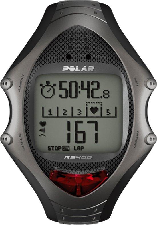 Polar RS400 - Sporthorloge - Grijs