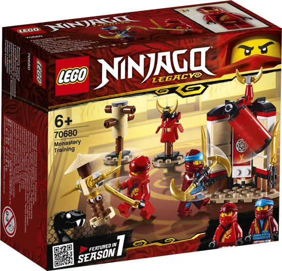 LEGO NINJAGO Kloostertraining - 70680