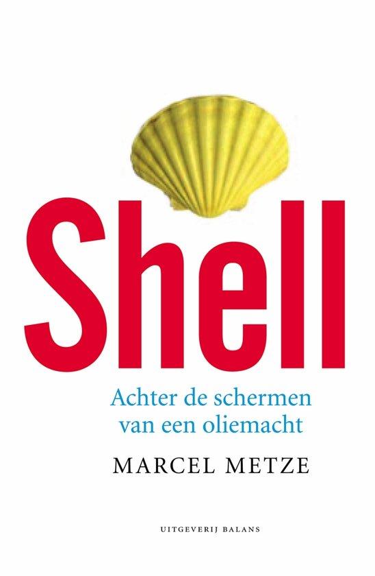Boek cover Shell van M. Metze (Paperback)