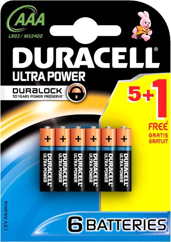 Duracell Ultra Power Single-use battery AAA Alkaline 1,5 V