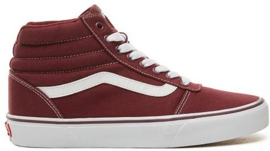 vans bordeaux rood kind