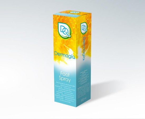 Dermagiq foot spray + 100 ml