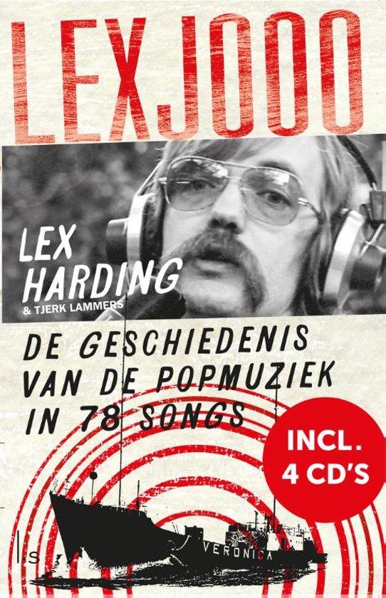 Boek cover De Lexjooo + 4 cds (Met 4 CDs) van Lex Harding (Hardcover)