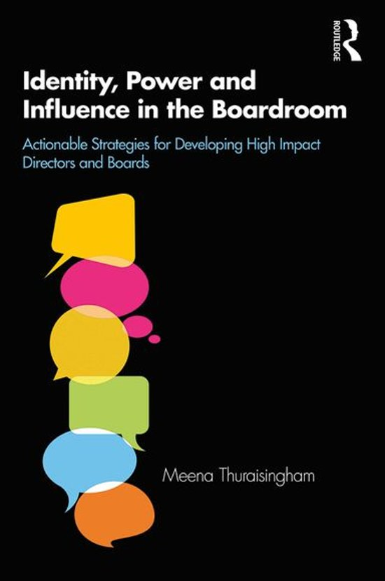 Identity, Power and Influence in the Boardroom