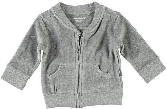 Imps & Elfs Unisex Vest - Melé Grey - Maat 50