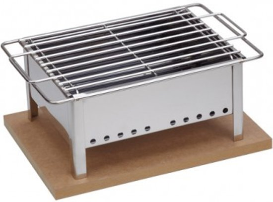 Tafel barbecue voor binnen en buiten in for Bbq tafel maken
