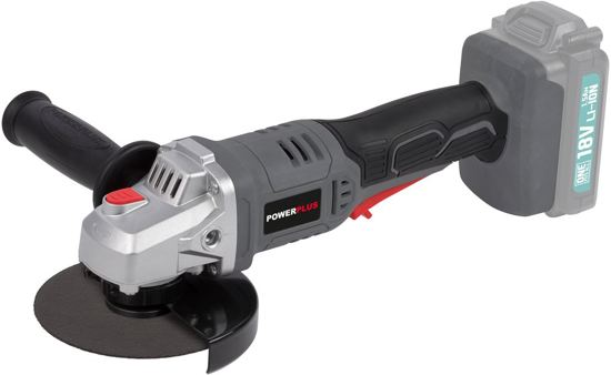 Powerplus One Fits All Haakse slijper - 115mm - 18 V Li-ion (zonder accu)