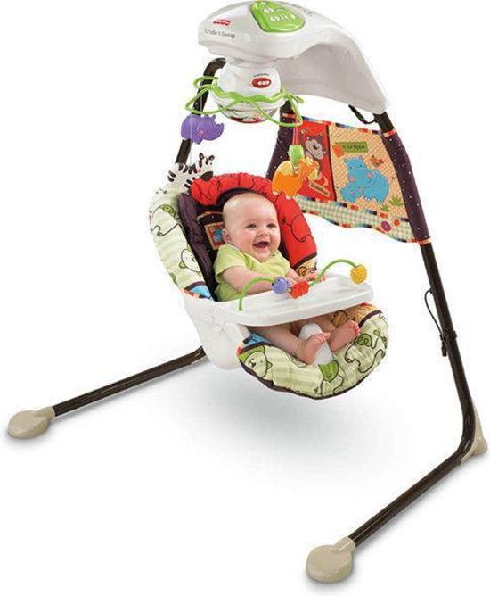 Wonderbaarlijk bol.com | Fisher-Price Dierentuin Baby Schommel, Mattel | Speelgoed CQ-27