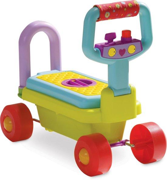 Taf Toys Loopwagen Looptrainer Babywalker 4 in 1 - met uitneembare opbergbox