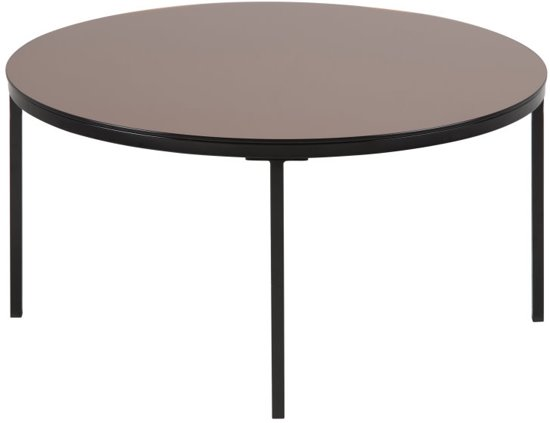 Bol fyn grace salontafel glas bronskleurig