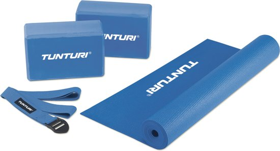 Tunturi Fitness-set/Yoga Starter Set - Blauw