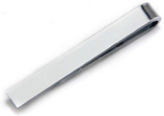 Dasspeld- zilverkleurig- 43 mm- rvs