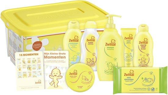 Zwitsal Baby Startersbox 7 stuks – cadeaupakket